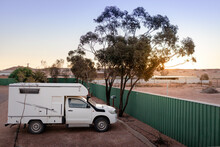 Small Sized 4wd Campervan Park...