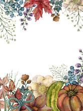 Fall Autumn Invitation Design ...