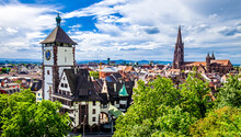 Old Town Of Freiburg Im Breisg...