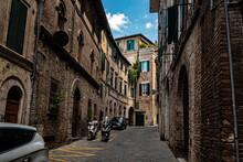 Narrow Street In Sienna
