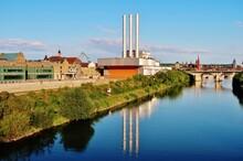 Würzburg, Heizkraftwerk Am Al...