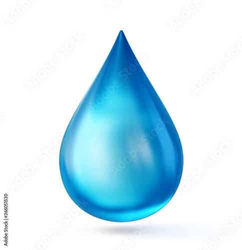 water drop Fototapet