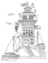 Fairytale House. Cute Fantasy ...