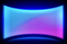 Led Concave Wall Video Screen ...