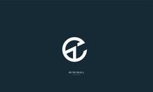 Alphabet Letter Icon Logo ET O...