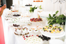 Delicious Sweets On Wedding Ca...