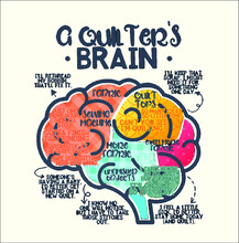 Funny Quilter S Brain Quilt Qu...