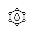 Quality, leaf, atoms icon. Simple line, outline vector elements of innovations icons for ui and ux, website or mobile application