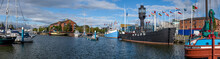Panoramic Of Port Of Hull, Yor...