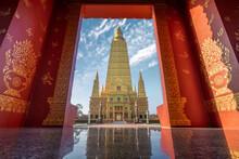Wat Mahathat Watchiramongkhon (Wat Bang Thong) In Krabi