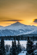 Sunrise Over The Frozen Otto L...