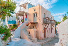 A Corner Of Mykonos Town With ...
