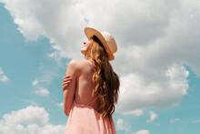 Portrait Of Redheaded Woman En...