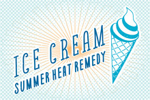Ice Cream Summer Heat Remedy L...