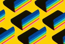 Pattern Of Rainbow Colored Era...