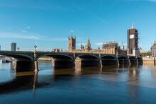 UK, London, Westminster Bridge...