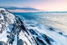 Coastal Landscape In Winter, B...