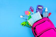 Backpack Full Of School Suppli...