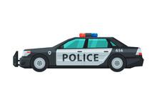 Police Sedan Car, Emergency Pa...