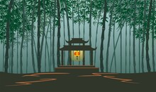 Seamless Bamboo Forest Landsca...