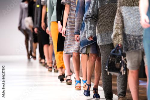 Valokuva Fashion Show, Catwalk Runway Event, Fashion Week themed photograph