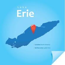 Erie Lake Vector