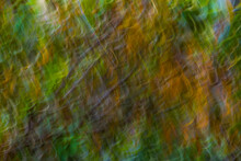 Abstract Green Background Monet Style Creative Blur