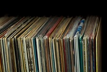 Vinyl Collection On The Black ...