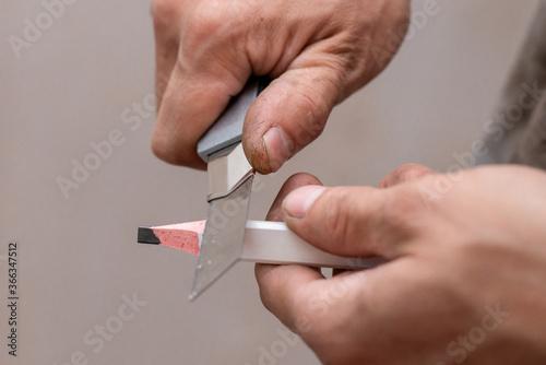 sharpening an archetype pencil Wallpaper Mural