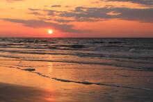 Early Sunrise At The Beach