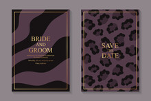 Modern Luxury Wedding Invitati...