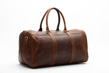 Duffel Bag Travel Case Leather...