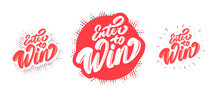 Enter To Win. Vector Banners S...