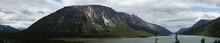 Panorama Of Mountains And Lake...
