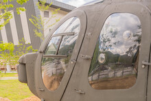 Army Helicopter Left Side Door
