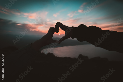 Obraz Love is in the air - fototapety do salonu