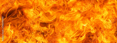 Fotografía blaze fire flame conflagration texture for banner background