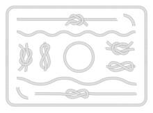 Collection Of Sailor Knots Set...