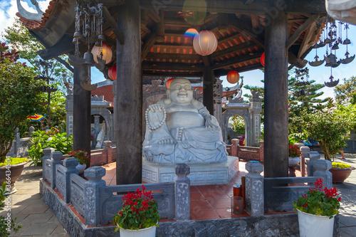 The Pagoda at Ba Na Hills.