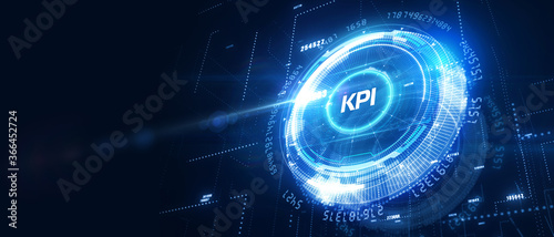 KPI Key Performance Indicator for Business Concept Wallpaper Mural