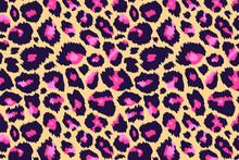 Trendy Leopard Pattern Backgro...