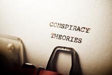Conspiracy Theories Phrase