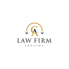 CA Law Logo Design