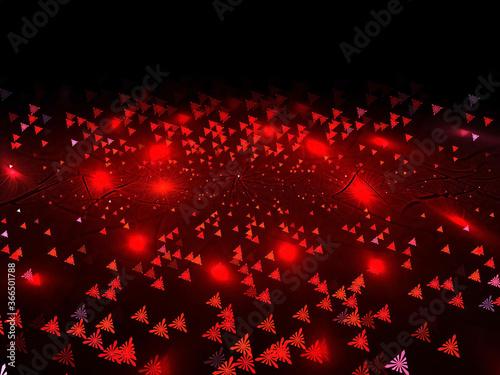 Fototapeta beautiful abstract background with light rays and waves obraz na płótnie