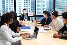 Executive Team Meeting During ...