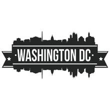Washington DC Skyline Stamp Si...