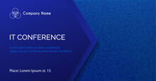 Conference Vector Template. Ab...