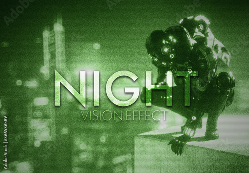 Night Vision Effect
