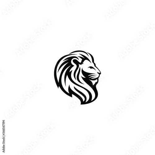 Fototapety, obrazy: modern and clean lion logo