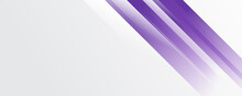 Vector Abstract Purple Lines Banner Background